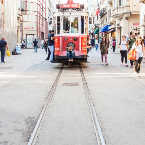 Oldest Tram in Istanbul