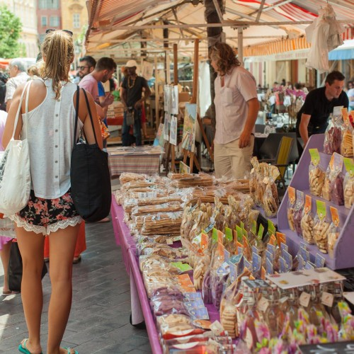 Old Town Market, Nice, France